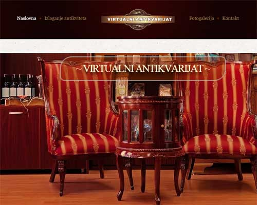 Virtual Antique Store